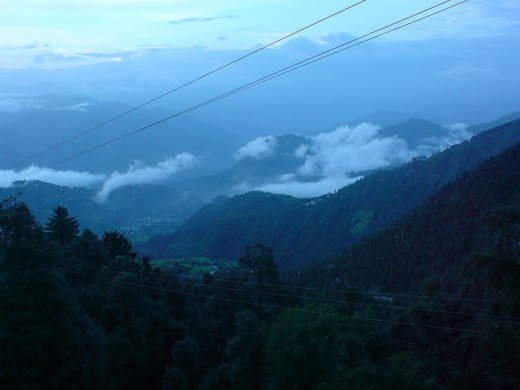 The Majestic view of Dalhousie