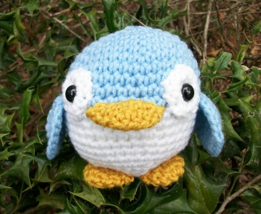 Little Blue Fairy Penguin of Australia in Roly-Poly Plush