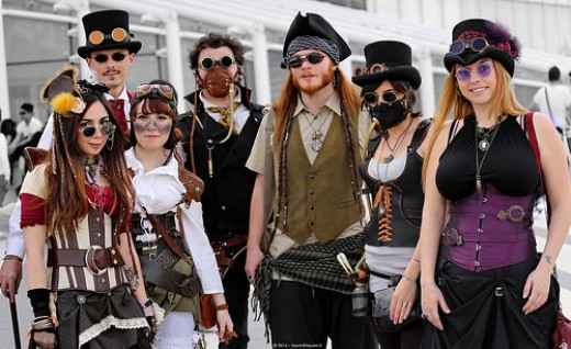 Various Steampunk Looks