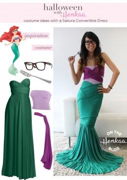 Henkaa's Hipster Ariel Costume :)
