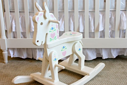 Baby Keepsake Rocking Horse