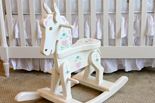 Baby Keepsake Rocking Horse