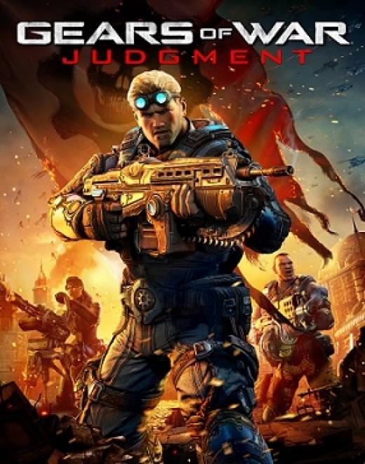 Gears of War: Judgment cover art.