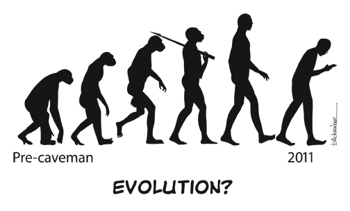 Yes, we are evolving! But isn't it time we decided what we are evolving into?