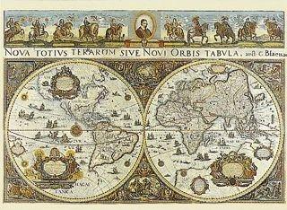 Ravensburger's 1665 World Map Jigsaw Puzzle