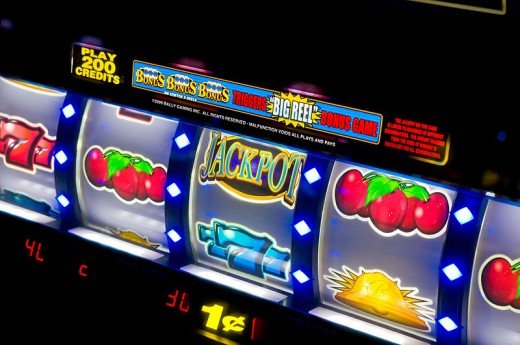 Accessible slot machines