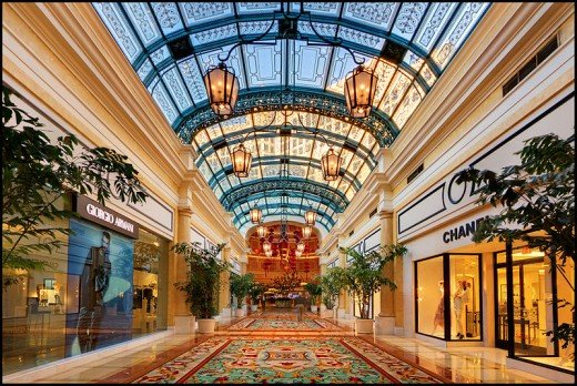 Shopping at the Bellagio