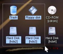 Organized harddrive using folders