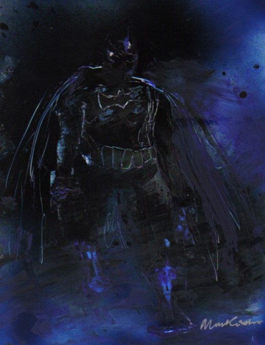 I tried to get an Arkham/Miller feel with this one