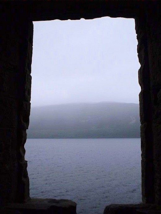 looking out at Loch Ness