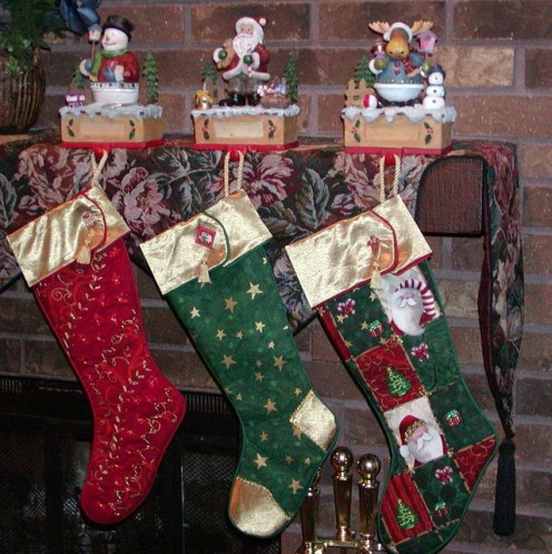 And the stockings were hung
