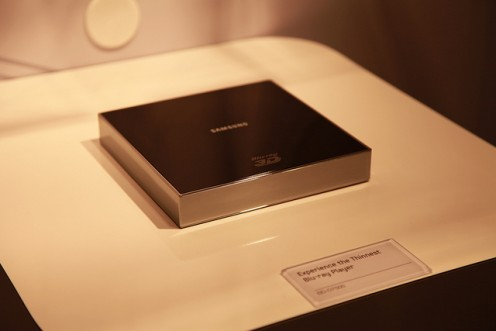 Samsung Blu-ray player on display at CES 2011