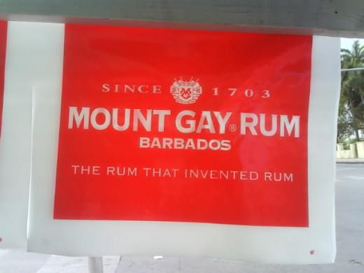 Mount Gay Rum- the original Barbados Rum