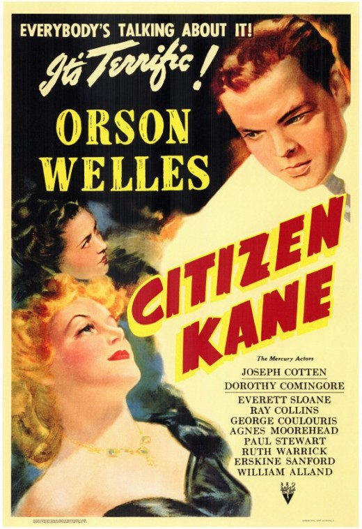 The Movie Poster for Citizen Kane