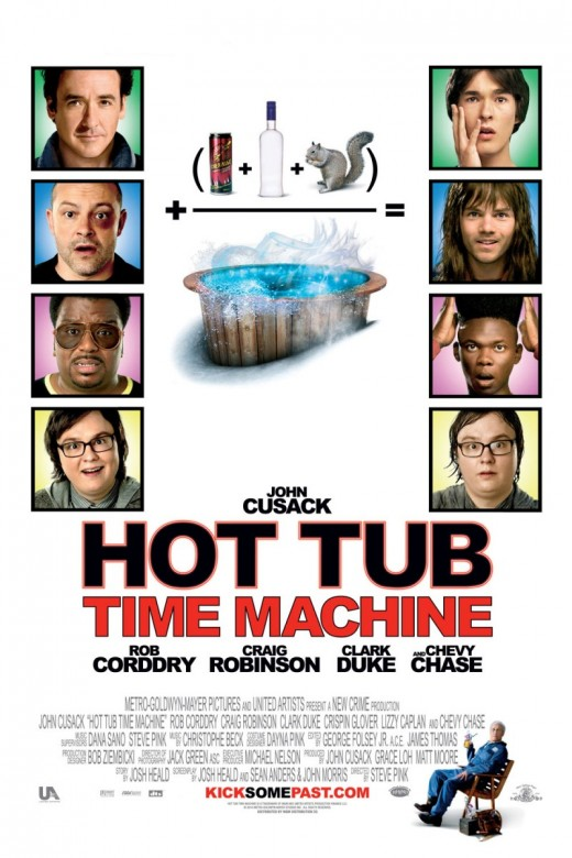 The Movie Poster for Hot Tub Time Machine