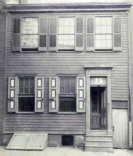 Whitman's home in Camden, NJ