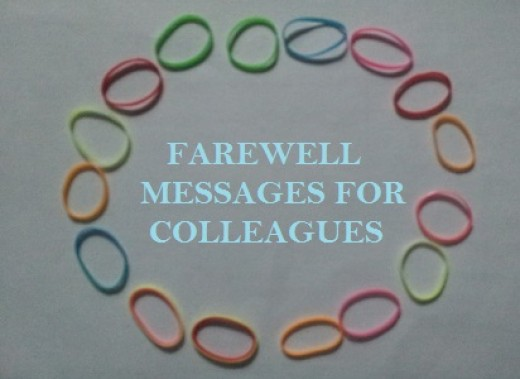 Farewell Messages for Colleagues | What to Say in a ...