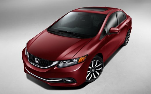 2015 Honda Civic Sedan Red