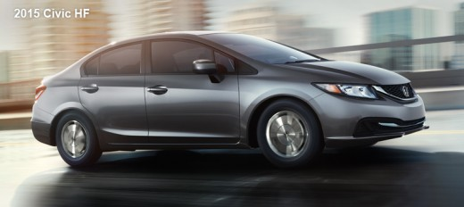 2015 Honda Civic HF Sedan Grey
