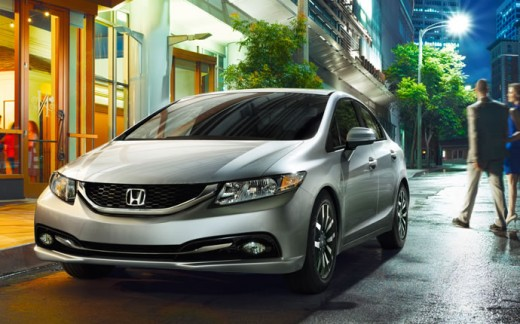 2015 Honda Civic Sedan Silver