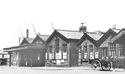 Cannon Street Station, Hull in early days - original plans were more ambitious