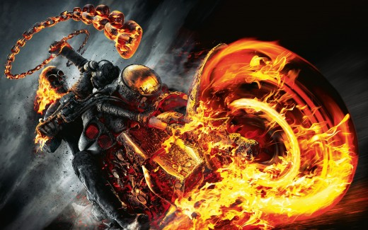 """""""I'm the only one who can walk in both worlds. I'm the Ghost Rider."""""""