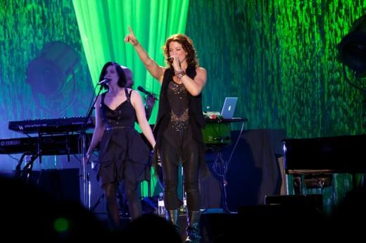 Sarah in concert