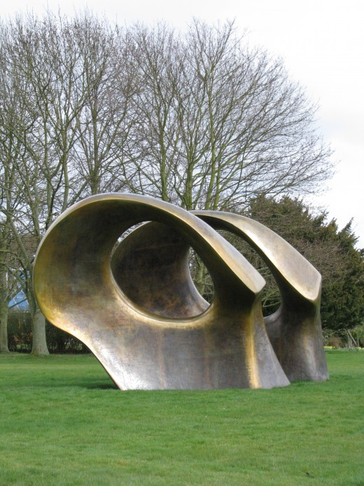 Double Oval by Henry Moore
