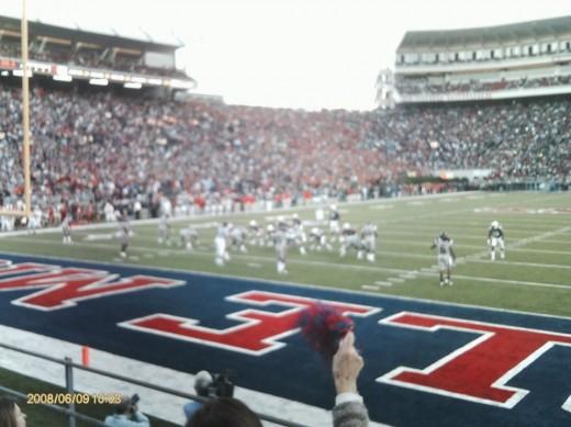 Ole Miss football game