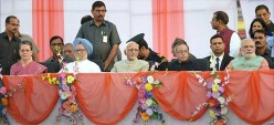 Narendra Modi and Manmohan Sing On Same Stage