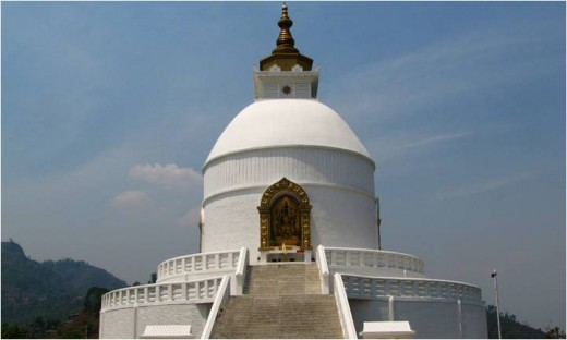 World Peace Pagoda Vishwa Shanti Stupa