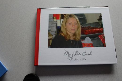 A smaller photo album cover.
