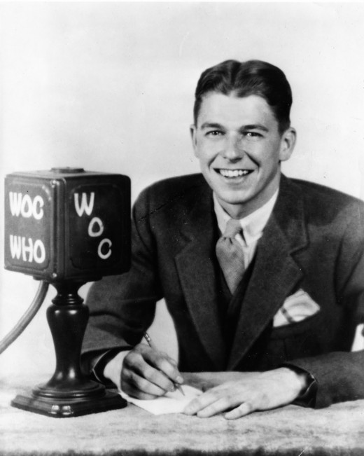 Ronald Reagan - radio days
