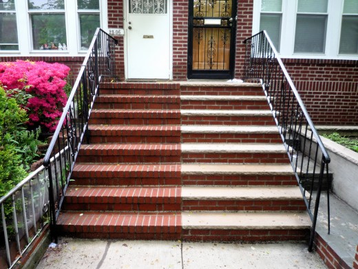 Flights of stairs and accessibility