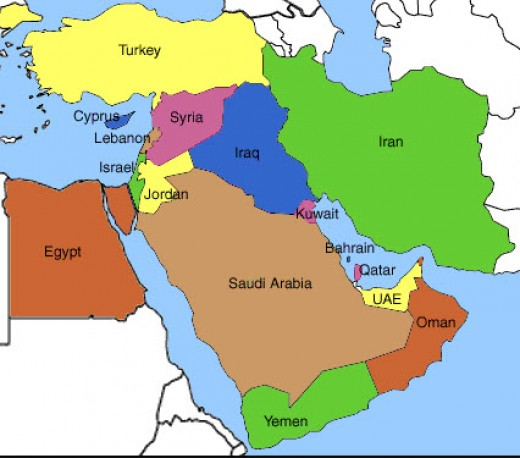 The Mid-East Today