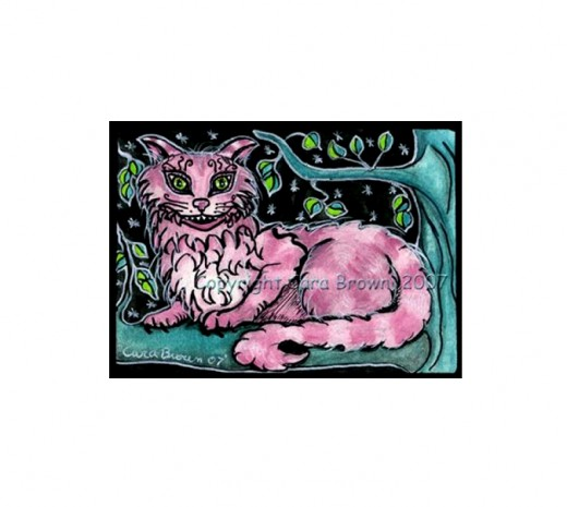 """Cheshire Cat #2"" by Cara Brown"