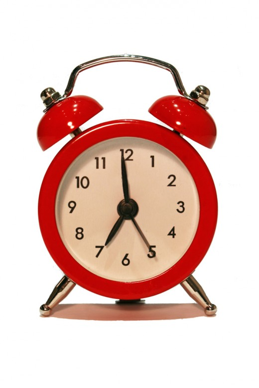 Target date alarm clock