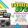 Retro 80's Party Ideas and Supplies