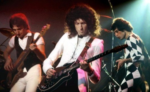 Queen performing in New Haven, Connecticut, US in November 1978.