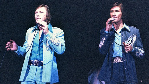 The Righteous Brothers performing at Knott's Berry Farm.