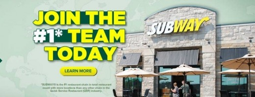 Join Subway Team