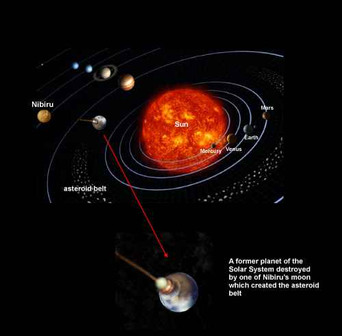 There is evidence a collision took place in our solar system billions of years ago that formed our planet Earth and Moon.