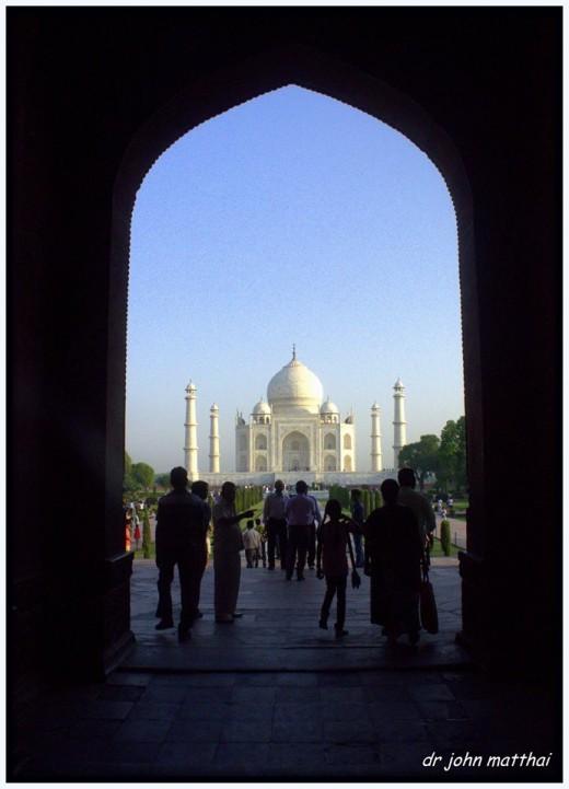 Taj Mahal View