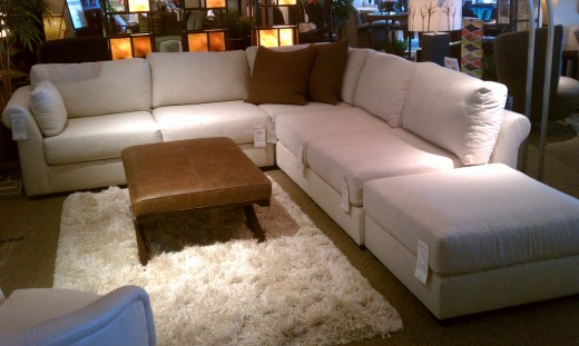 A beautiful Cabo sectional sofa by Norwalk