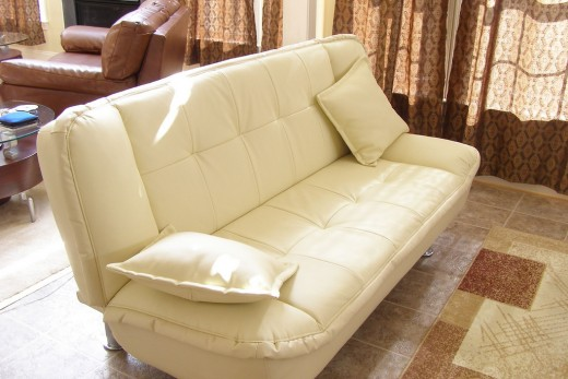 A great looking futon ready for any modern home.