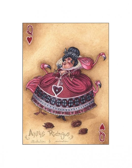 """Her Majesty--Queen of Hearts"" by Annie Rodrigue"