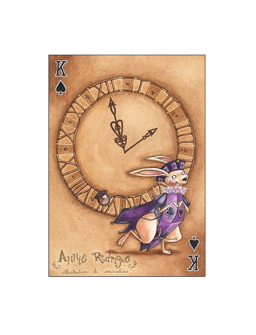 """""""The White Rabbit--King of Spades"""" by Annie Rodrigue"""
