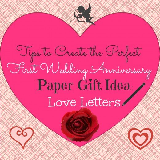Tips To Create The Perfect First Wedding Anniversary Paper Gift