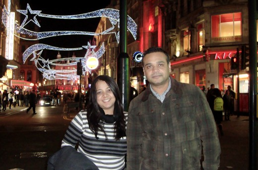 2012 on my London visit. Nothing has changed between us just few pounds here and there !!