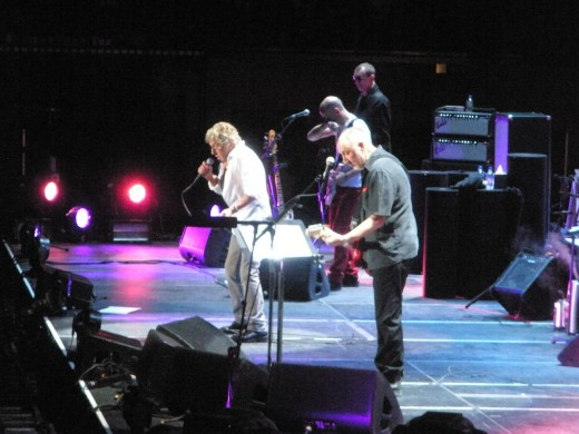 The Who live in Atlantic City, 2013.